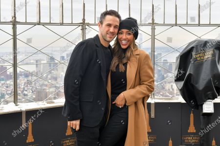 Tayshia Adams and Zac Clark