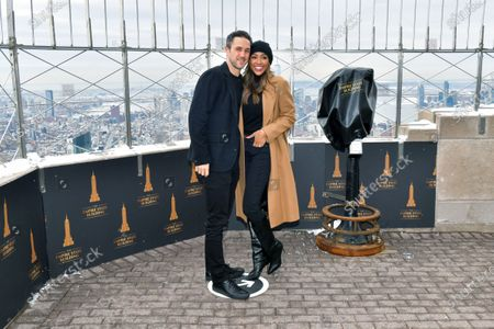 Stock Photo of Tayshia Adams and Zac Clark
