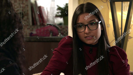 Coronation Street - Ep 10264 Wednesday 3rd March 2021 - 2nd Ep Asha Alahan, as played by Tanisha Gorey, reveals that she's in love with her, Nina Lucas is floored.