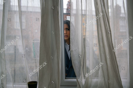Coronation Street - Ep 10264 Wednesday 3rd March 2021 - 2nd Ep Bolted in the house Yasmeen leans against the sofa gasping for air. Alya Nazir, as played by Sair Khan, and Tim Metcalfe, as played by Joe Duttine, force their way in