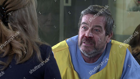 Coronation Street - Ep 10262 Monday 1st March 2021 - 2nd Ep Jenny Connor, as played by Sally-Ann Matthews, visits Johnny Connor, as played by Richard Hawley, and is shocked by the state of him. Johnny admits that he's stopped taking his pills because he doesn't want his eyesight to improve as he won't see Aidan again, Jenny's heart breaks for him.