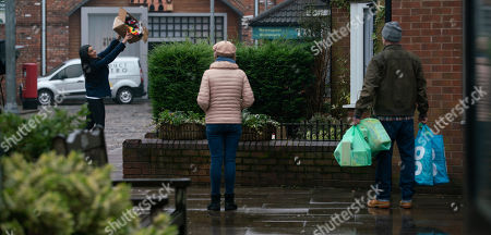 Editorial image of 'Coronation Street' TV Show, UK - 2021