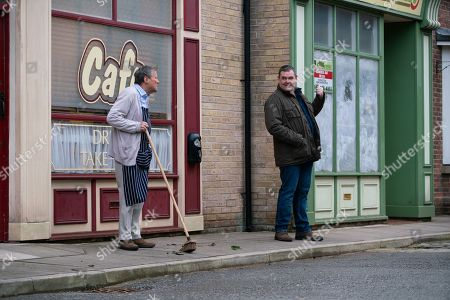 Editorial photo of 'Coronation Street' TV Show, UK - 2021