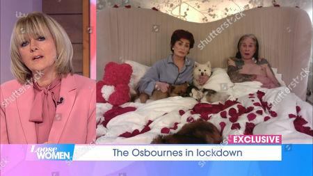 Jane Moore, Sharon Osbourne, Ozzy Osbourne