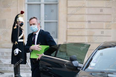 Stock Photo of French Junior Foreign Affairs Minister Jean-Baptiste Lemoyne