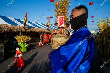 Editorial picture of Preparing for Lunar New Year in Little Saigon, Little Saigon, Westminster, California, United States - 10 Feb 2021