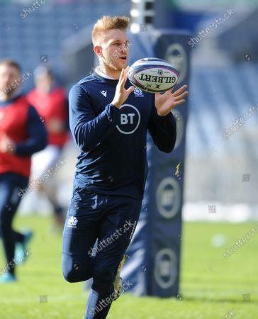 Chris Harris - Scotland centre.