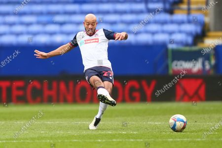 Stock Picture of Alex Baptiste of Bolton