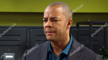 Emmerdale - Ep 8985 Thursday 4th March 2021 - 1st ep Al Grant, as played by Michael Wildman, fires Priya Sharma wrongly assuming she's the one who dished the dirt on him to a client.