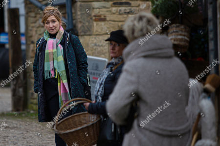 Emmerdale - Ep 8983 Tuesday 2nd March 2021 Gabby Thomas is angry at Nicola King, as played by NICOLA KING, for telling Bernice about her pregnancy. She's scathing about her mum, and Nicola and Diane Sugden, as played by Elizabeth Estensen, are surprised Laurel Thomas, as played by Charlotte Bellamy, doesn't defend her. Knowing she needs to keep Gabby on side, Laurel explains she'll have to start treating her with kid gloves, rather than risk driving her further into Kim's clutches.