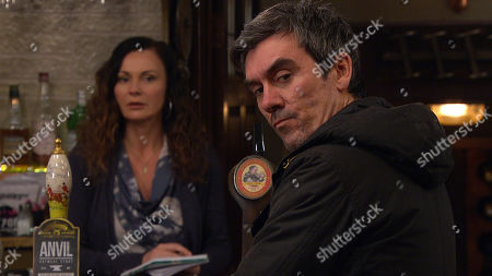 Emmerdale - Ep 8981 Friday 26th February 2021 Soon Cain Dingle, as played by Jeff Hordley, and Chas Dingle, as played by Lucy Pargeter, are at loggerheads over whether Faith Dingle can stay so Chas decides there's only one thing for it - a Dingle court. Will Faith get to stay or will she be banished from the village?