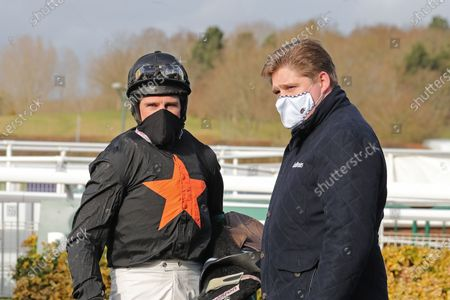Editorial image of Horse Racing from Warwick Racecourse, UK - 15 Feb 2021