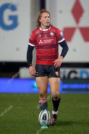 \PORTRAIT Gloucester Rugbys Billy Twelvetrees during the Gallagher Premiership Rugby match between Gloucester Rugby and Bristol Rugby at the Kingsholm Stadium, Gloucester