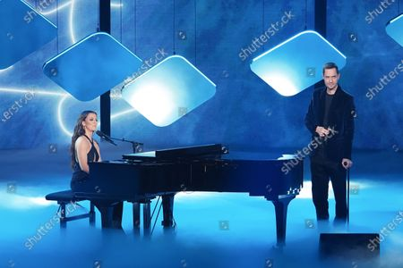 Camille Lellouche and Etienne Daho