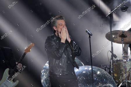 Editorial photo of Music Awards, Paris, France - 12 Feb 2021
