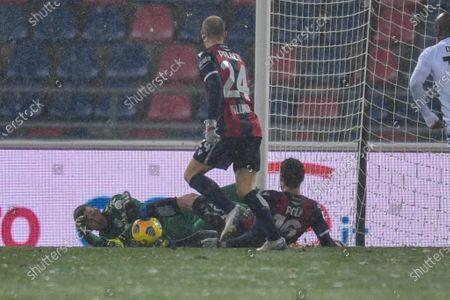 Andrea Poli (Bologna FC) in action