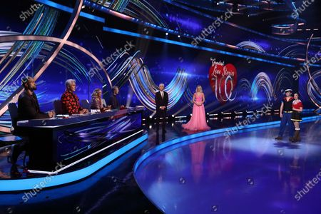 Ashley Banjo, John Barrowman, Jayne Torvill and Christopher Dean, Phillip Schofield and Holly Willoughby, Sonny Jay and Angela Egan