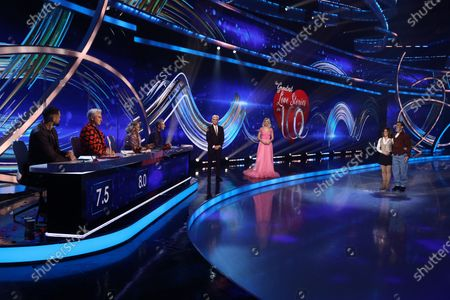 Editorial photo of 'Dancing On Ice' TV show, Series 13, Episode 5, Hertfordshire, UK - 14 Feb 2021