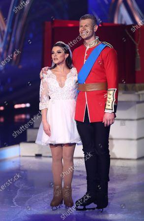 Faye Brookes and Hamish Gaman