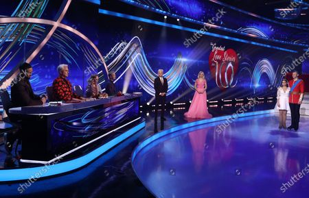 Editorial image of 'Dancing On Ice' TV show, Series 13, Episode 5, Hertfordshire, UK - 14 Feb 2021