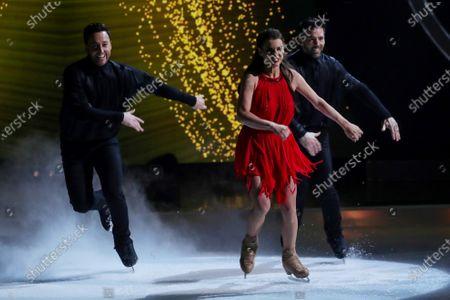 Sylvain Longchambon, Vicky Ogden and Alex D