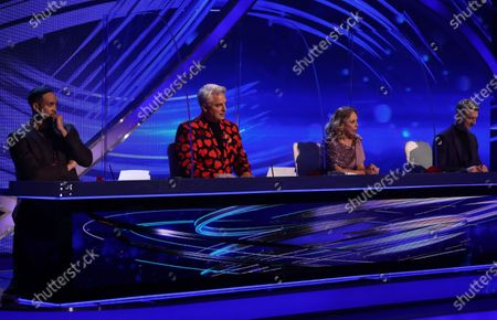 Ashley Banjo, John Barrowman, Jayne Torvill and Christopher Dean