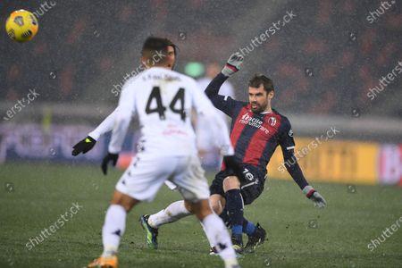 Editorial image of Soccer: Serie A 2020-2021 : Bologna 1-1 Benevento, Bologna, Italy - 12 Feb 2021