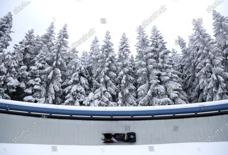 Editorial photo of Bobsled Worlds, Altenberg, Germany - 13 Feb 2021