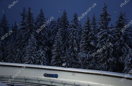 Editorial picture of Bobsled Worlds, Altenberg, Germany - 13 Feb 2021