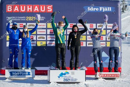 Editorial image of Sweden Idre Fjall Fis Snowboard Championships - 13 Feb 2021