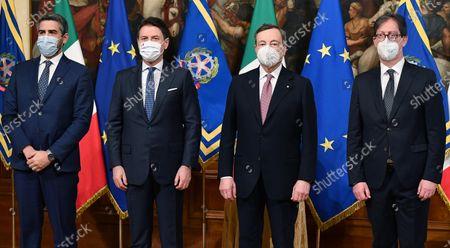 Editorial picture of Italian government sworn in, Rome, Italy - 13 Feb 2021