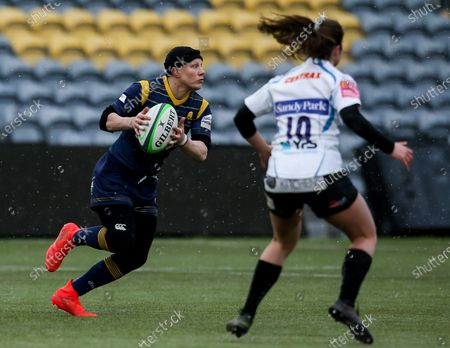 Editorial picture of Worcester Warriors Women v Exeter Chiefs Women, UK - 13 Feb 2021