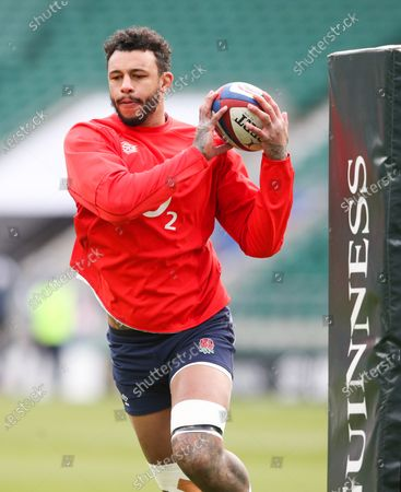 Courtney Lawes of England