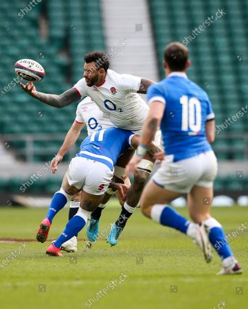 Editorial picture of England v Italy, Guinness 6 Nations, Rugby Union, Twickenham Stadium, London, UK - 13 Feb 2021