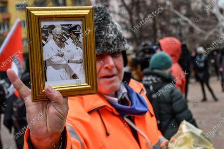 Editorial picture of Bulgarian anti-fascist and anti-racists organizations protest, Sofia, Bulgaria - 13 Feb 2021