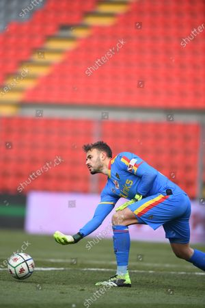 "Gabriel Vasconcelos Ferreira (Lecce)           during the Italian ""Serie B match between Cremonese 1-2 Lecce at  Giovanni Zini Stadium in Cremona, Italy."