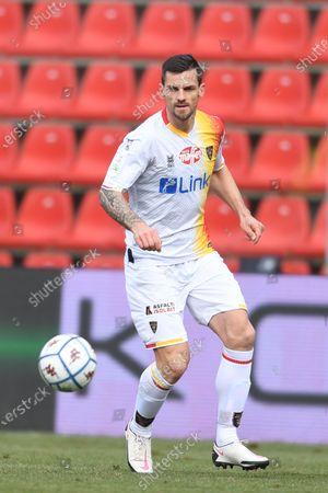 "Christian Maggio (Lecce)           during the Italian ""Serie B match between Cremonese 1-2 Lecce at  Giovanni Zini Stadium in Cremona, Italy."