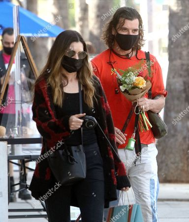 Editorial image of Gavin Rossdale and Sophia Thomalla out and about, Los Angeles, USA - 13 Feb 2021