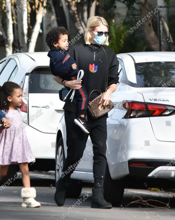 Paige Butcher and son Max Charles Murphy