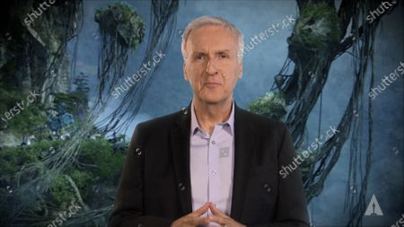 James Cameron during the Scientific and Technical Awards where 17 scientific and technical achievements represented by 55 individual award recipients, as well as two companies, were honored in a virtual presentation on Saturday, February 13, 2021.
