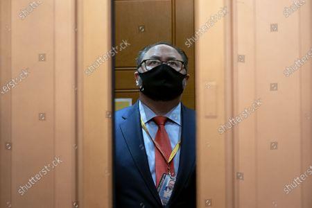 Editorial photo of Donald Trump's second impeachment trial, Washington DC, USA - 13 Feb 2021
