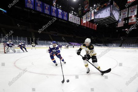 Editorial photo of Bruins Islanders Hockey, Uniondale, United States - 13 Feb 2021