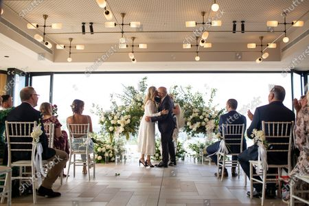 Editorial photo of Wedding on Valentine's Day at Taronga Zoo in Sydney, Australia - 14 Feb 2021