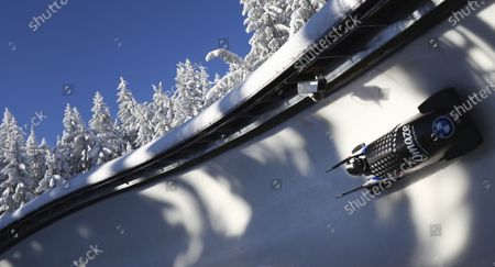 Editorial image of Bobsled Worlds, Altenberg, Germany - 14 Feb 2021