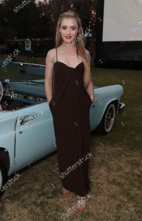 """Kathryn Newton attends Amazon Studios """"The Map of Tiny Perfect Things"""" Drive In Screening on Saturday, Feb 13 at Calamigos Ranch."""