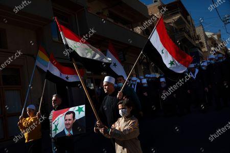 Editorial picture of Virus outbreak Syria, Majdal Shams, Israel - 14 Feb 2021