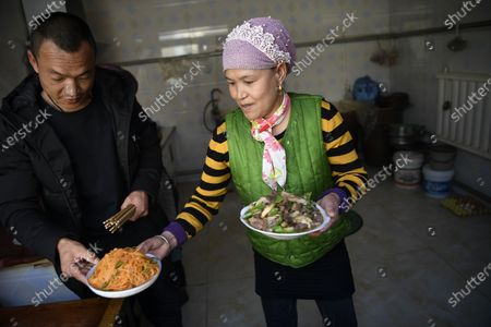 Editorial image of China Ningxia Yinchuan Poverty Relief Life Improvements - 11 Feb 2021