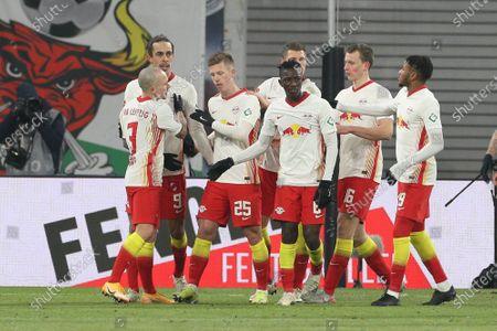Daniel Carvajal #25 (RB Leipzig) 1:0