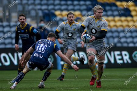 Editorial picture of Worcester Warriors v Wasps, UK - 14 Feb 2021