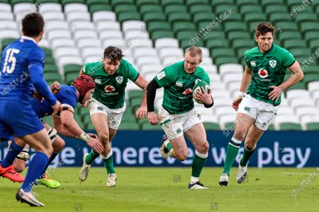 Editorial picture of 2021 Guinness Six Nations Championship Round 2, Aviva Stadium, Co. Dublin - 14 Feb 2021